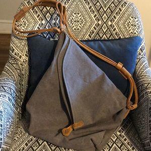 Handbags - Canvas Crossover Bag